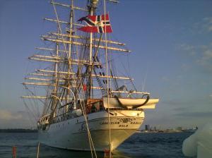 Oslo ship going towards Tallinn on 16.07.09